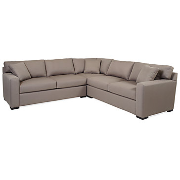 Phoenix sectional 3pc sectionals sofas sectionals for Sectional sofas phoenix