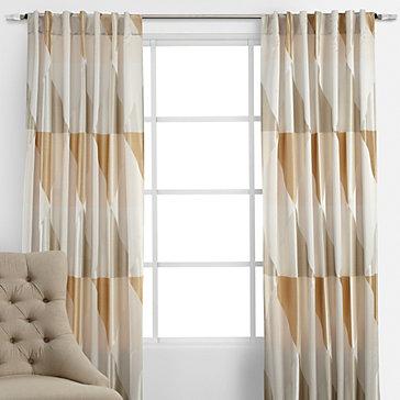 prism panels - gold/champagne | cuddler monaco living room