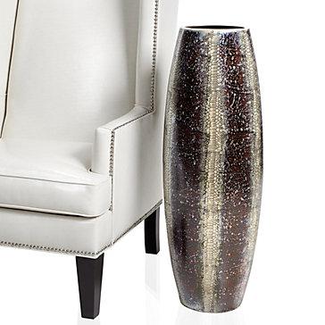 """Python Vase - 34""""H"""