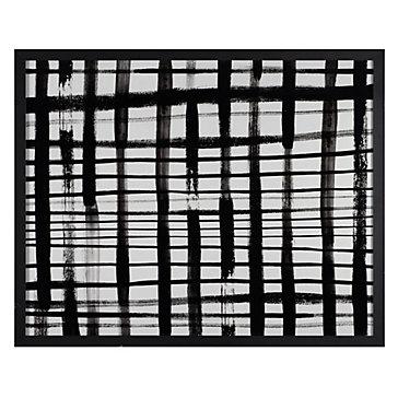 Rectangular Black and White