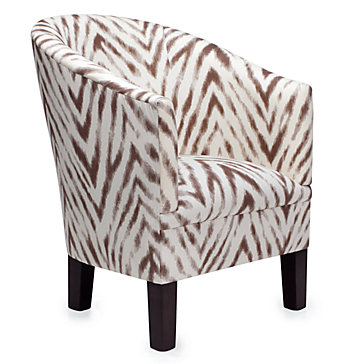 Riley Club Chair - Zebra