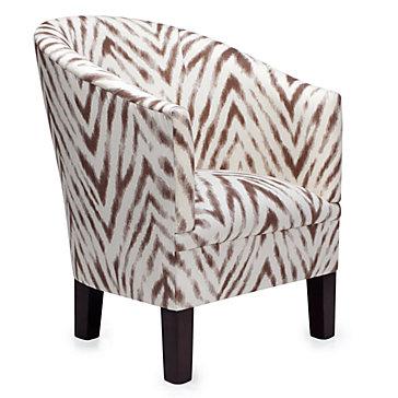Riley Club Chair - Zebra
