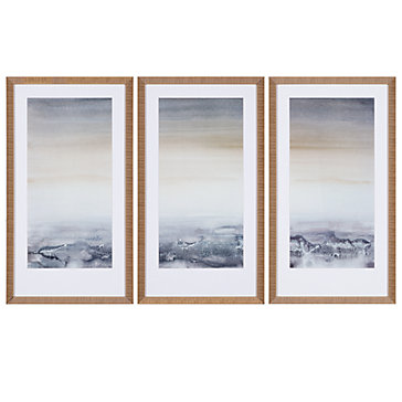 Z Gallerie Wall Art sable island - set of 3 | framed art | arttype | art | z gallerie