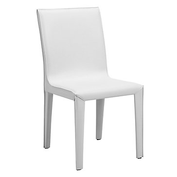 Sam dining chair white dining chairs dining room for Z gallerie dining room chairs
