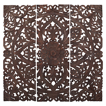 Z Gallerie Wall Art carved sanctuary panel | wall decor | home decor | z gallerie