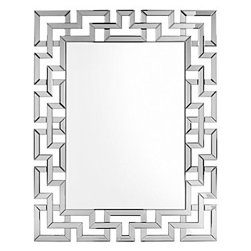 Santorini mirror rectangular mirrors decor z gallerie for Mirror z gallerie