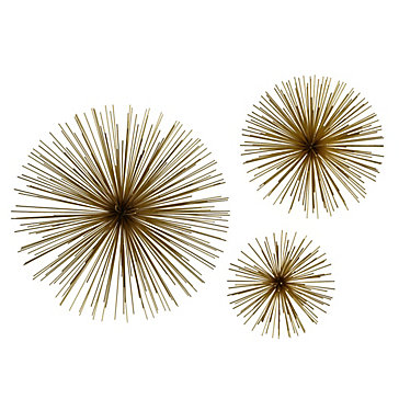 Z Gallerie Wall Art scoppio gold wall decor | z gallerie