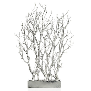 Silver Branch Tree In Pot