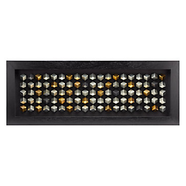 Z Gallerie Wall Art silver cubes | framed art | arttype | art | z gallerie