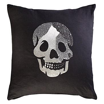 Throw Pillows Z Gallerie : Skull Pillow 20