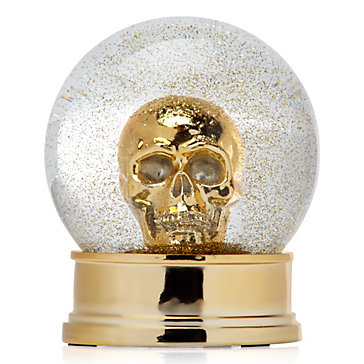 Skull Snow Globe Objects Of Art Objects Of Art Decor