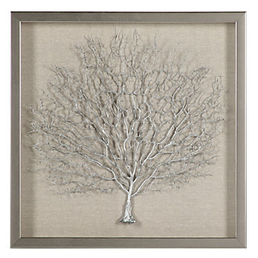 Z Gallerie Wall Art sterling sea fan shadowbox | small wall art | arttype | art