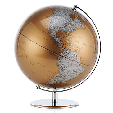 World Globe Gold Objects Of Art Decor Z Gallerie