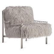 Axel Fur Accent Chair