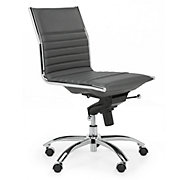 Malcolm Armless Chair - Grey