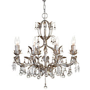 Bellina Chandelier in Platinum