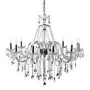 omni chandelier silver