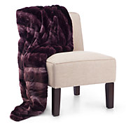 Zambia Throw - Aubergine
