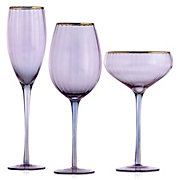 Ophelia Glassware - Sets of 4