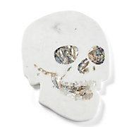 Marble Skull Serving Platter