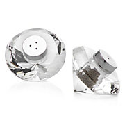 Diamond Crystal Salt And Pepper Shakers