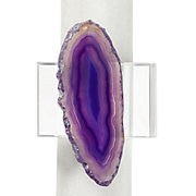 Agate Napkin Ring - Set of 4