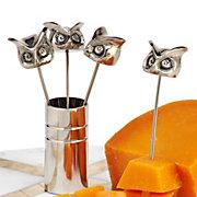Owl Cocktail Picks - Set of 4