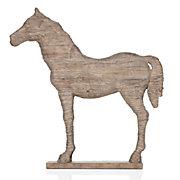 Faux Driftwood Horse