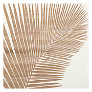 Palm Leaf Panel 1 - White