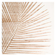 Palm Leaf Panel 2 - White