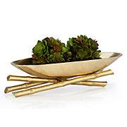 Golden Bamboo Bowl