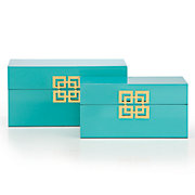 Ming Boxes - Set of 2