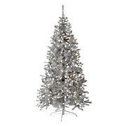 Glimmer Tinsel Pre-Lit Tree
