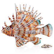 Jeweled Fish Box