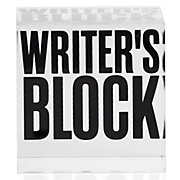 Writer's Block Paperweight