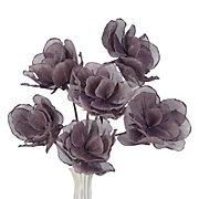 Linen Classic Flower - Set of 3