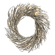 LED Glitter Wreath
