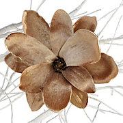 Velvet Magnolia Clip
