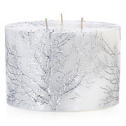 Carved Tree Candle