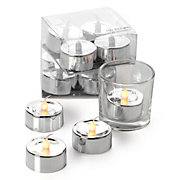 Flameless Tea Lights Set of 4