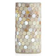 Shell Circle LED Pillar