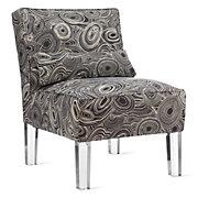 Malachite Slipper Chair