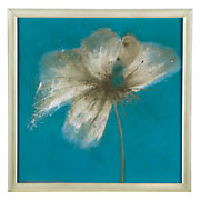 Floral Burst 2 framed abstract still life by emma forrester