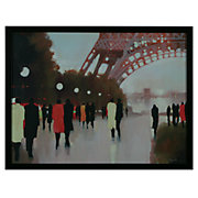 Abstract Framed Art Print Paris Remembered by Lorraine Christie