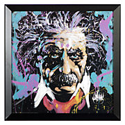 Albert Einstein Framed Art Poster by David Garibaldi