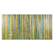 Limecicles by Liz Jardine, Green Abstract Canvas