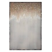 glittering art, canvas, glicee, glitter