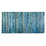 Bluecicles Abstract Canvas by Liz Jardine