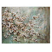 Blossom Melody Canvas by Lynlie Carson