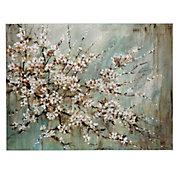 Blossom Melody Canvas by Lynlie Carson